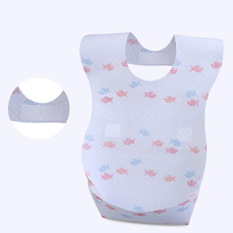 Bavaglini Usa E Getta.Baby Gear 10 Pack Bavaglini Usa E Getta Stampa Pesce A Tre