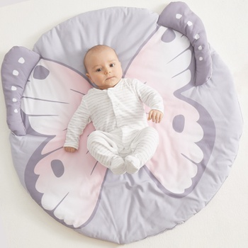 Baby Soft Butterfly Pattern Play Mat