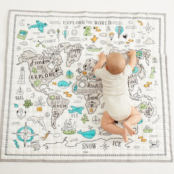 Map Design Play Mat