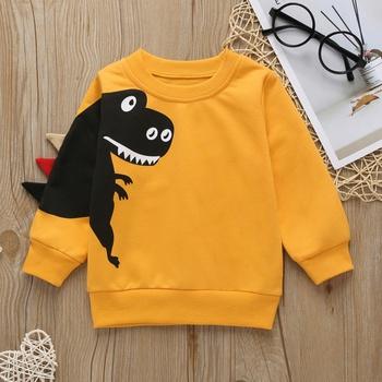 Baby / Toddler Adorable Dinosaur Print Pullover