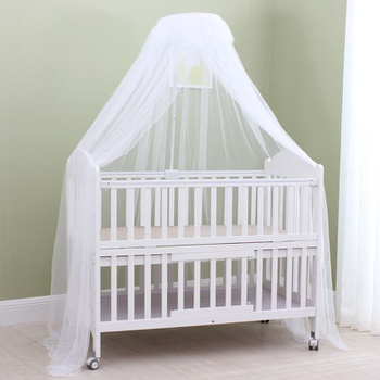 Mosquito Guard Baby Crib Netting with Stents