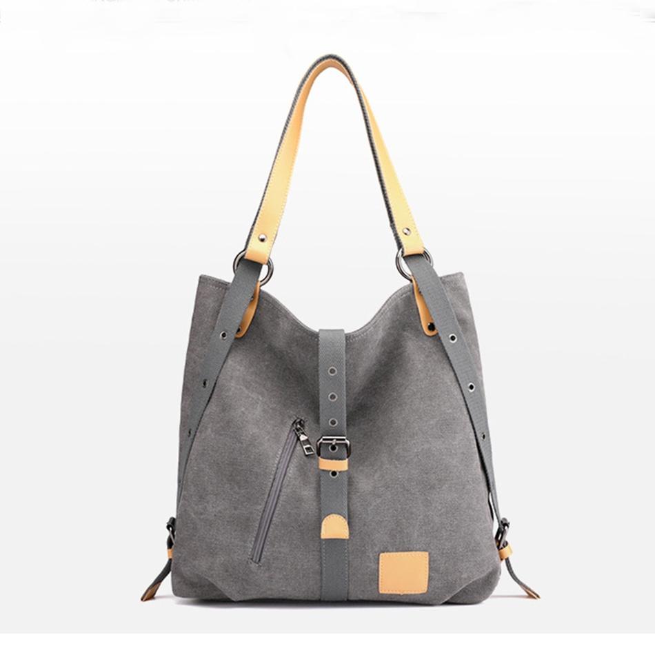 Home-Accessories Vintage Color Block Shoulder Bag Backpack at PatPat.com 74b935e2a9e92