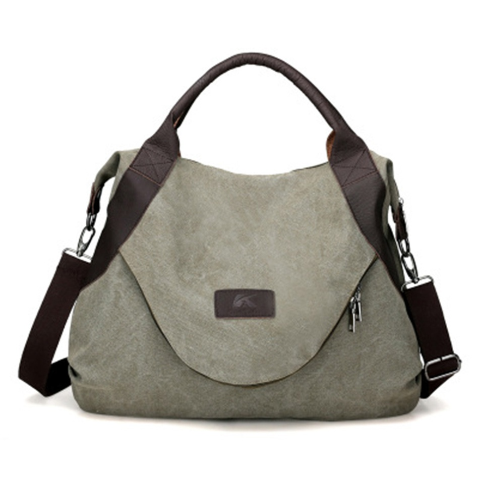 Vintage Large Capacity Zip-up Canvas Shoulder Bag 5f964a7320bf6