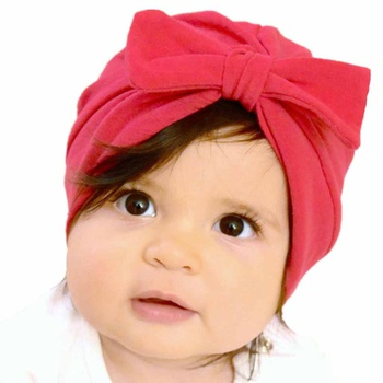 Lovely Solid Bow Decor Hat.  6.99  9.99. Size  One Size · Stylish Dotted  Big Ear Decor Cap for Baby 9bb170717775