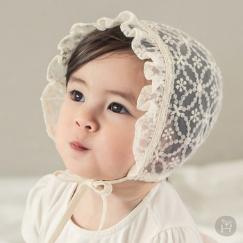 Baby / Toddler Floral Lace Princess Hat