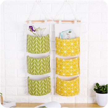 2 Pcs Stylish Hanging Storage Bag