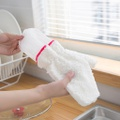 2-piece Soft Cleanning Gloves for Dishwashing