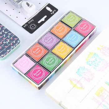 20-piece Colorful DIY Stamps Set