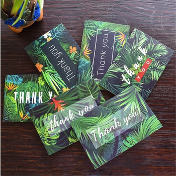 """6-piece Delicate """"Thank you"""" Cards Set"""