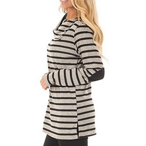 Trendy Stripe Long-sleeve Top