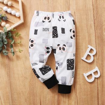 1pc Baby Girl casual Animal sweartpants Casual Pants & Sweatpants & Harem Pants