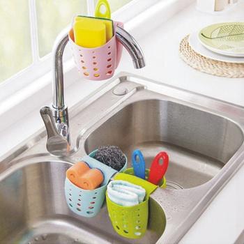 Newest Sink Shelf Kitchen Organizer Holder Hanging Double-Sides Portable Kitchen Accessories Wash