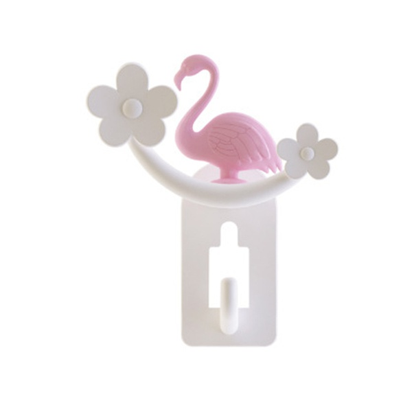 Creative Multifunctional Flamingo Design Wall Hook