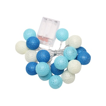 20 Bulbs LED Hollow out Ball Design String Lights