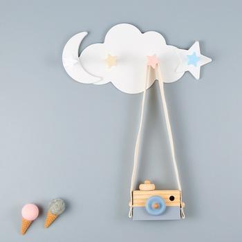 Plastic Cloud Star Stick Children's Room Decor Hanging Wall Decor