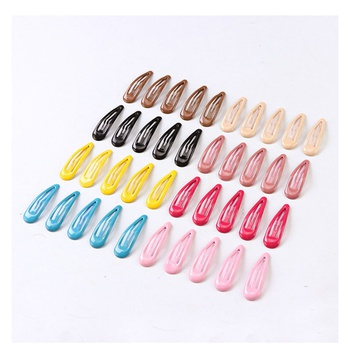 40-pack Pretty Colorful Hairpin