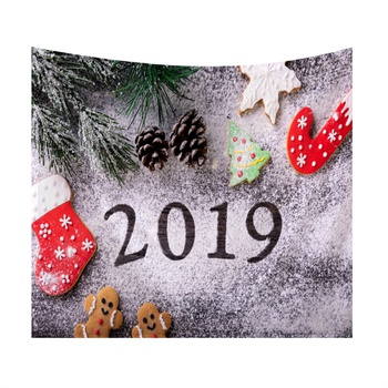 """Stylish """"2019"""" Print Tapestry for Wall Decor"""