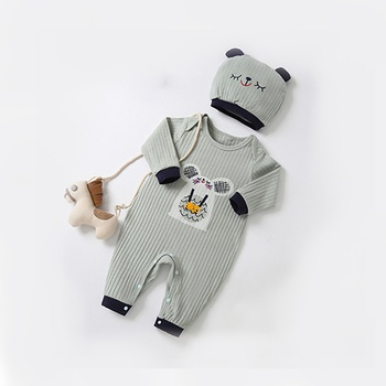 605ca6fa4 Cute Solid Ear Decor Hooded Fur Knit Jacket for Baby