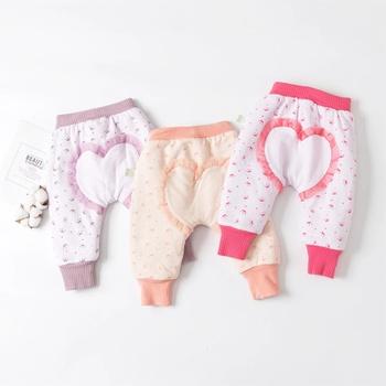 Baby Girl casual Heart-shaped Harem pants Casual Pants & Sweatpants & Harem Pants