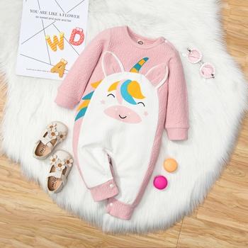 Baby Girl Sweet Animal & Unicorn Jumpsuits