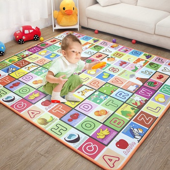 PatPat Alphabet Fruit Print Baby Play Crawling Mat