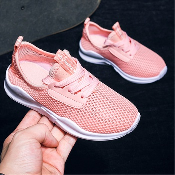 Breathable Mesh Solid Sneakers for Toddler and Kid