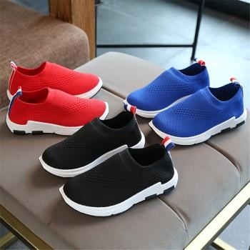 Breathable Mesh Solid Shoes