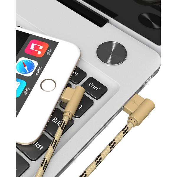 USB Cable Nylon Braided Fast Charging Cord for iPhone