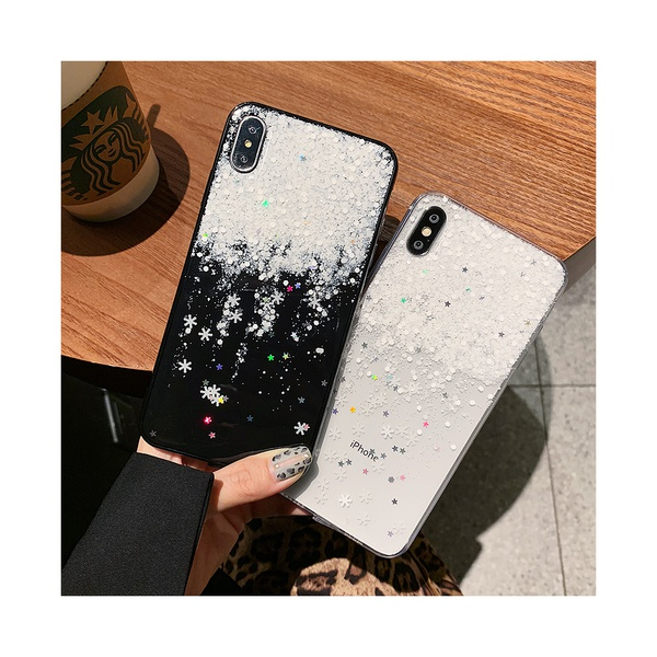 Creative Snow Pattern Phone Case for iPhone