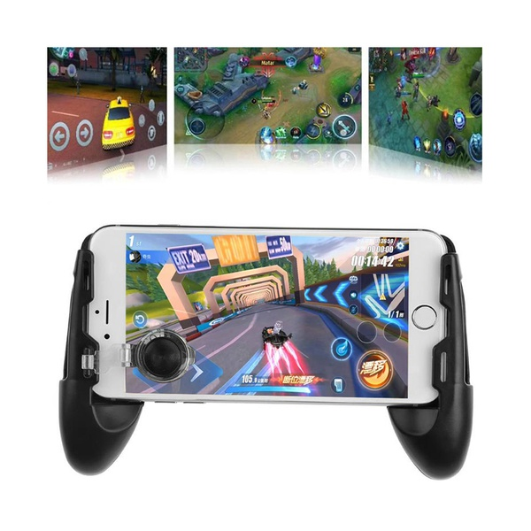 3-In-1 Joystick Grip Extended Handle Game Controller for Mobile