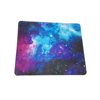 1 Pc Colorful Starry Pattern Mouse Pad