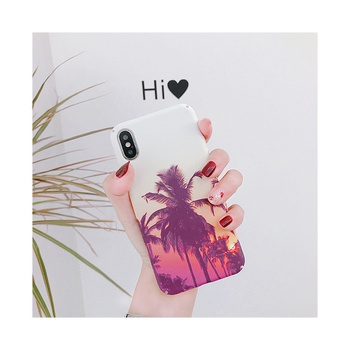 Stylish Landscape Pattern Phone Case for iPhone