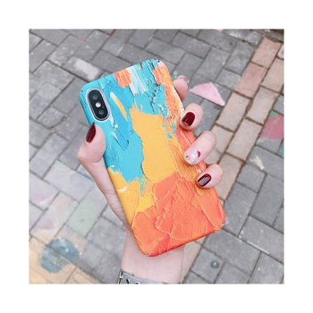 Stylish Landscape Pattern Wooden Phone Case for iPhone