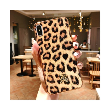 Creative Leopard Pattern Phone Case for iPhone and Samsung