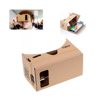 Virtual Reality Cardboard DIY 3D Glasses VR Box for Mobile