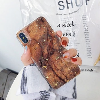 Stylish Marble Vein Phone Case for iPhone