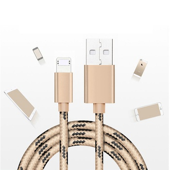 USB Cable Fast Charging Cord for iPhone and Android