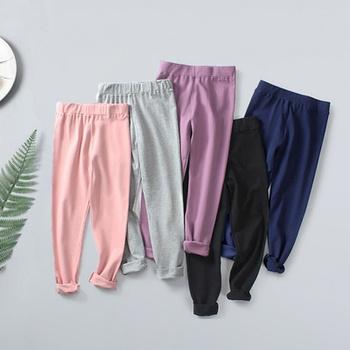 Fashionable Solid Leggings For Girls