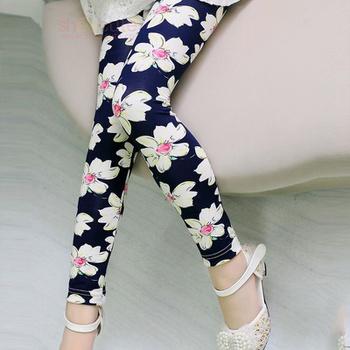 Fashionable Floral Pattern Leggings