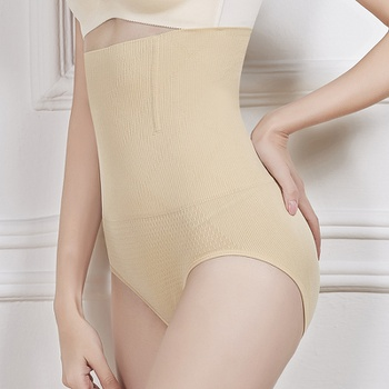 Postpartum Corset Bodyshape High Waist Belly Pants Hip Briefs