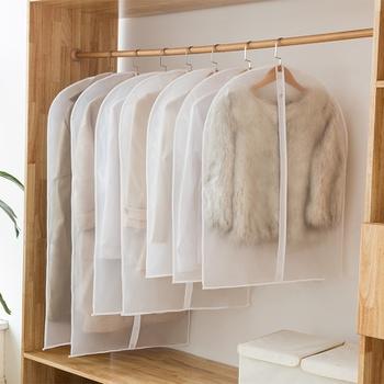 5 Pcs Dust-proof Transparent Clothes Storage Cover