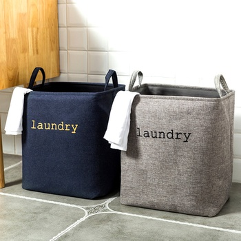 Laundry Letter Simplify Cotton and Linen Dirty Storage Hamper
