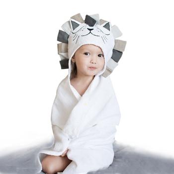 Lion Design Blanket Bath Towel