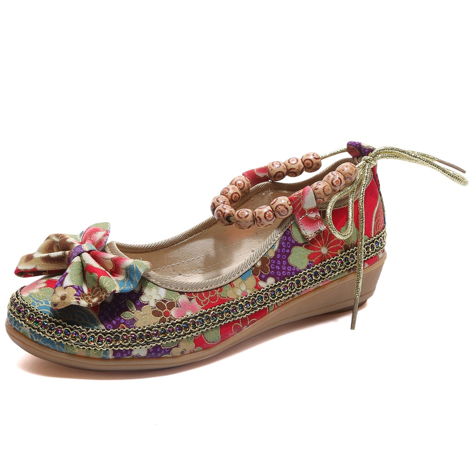 7f32a323f0ed Home-Accessories Stylish Beaded Wedge Sandals at PatPat.com
