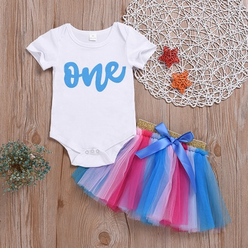03f6ccd17520c 1st birthday outfit girl | PatPat | Free Shipping
