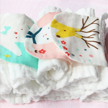 2-piece Cartoon Baby Sweat Absorbent Towels