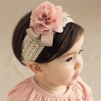 Baby / Toddler Stylish Floral Decor Hollow out Headband