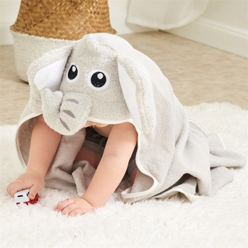 Elephant Design Cotton Blanket Bath Towel
