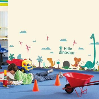 Cartoon Wall Decoration Wallpaper Stickers Kindergarten Baby Bedroom Children Room Decoration