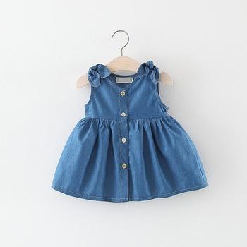 Baby / Toddler Trendy Denim Dress